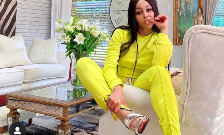 Pics! Khanyi Mbau Gives Away All Her Shoes And It's A Lot Of Pairs
