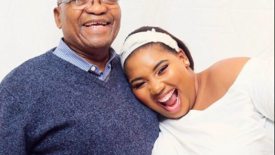 Photo of Jacob Zuma And Fiancé  Nonkanyiso Conco Reportedly Call It Quits