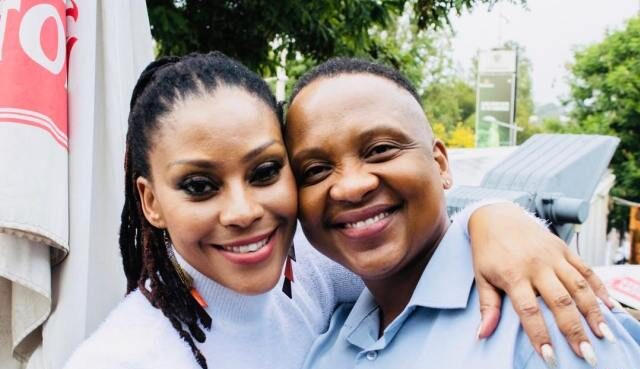 Letoya Makhane Responds To Fikile Mbalula's Social Distance Comment On Her Affectionate Pic With Bae
