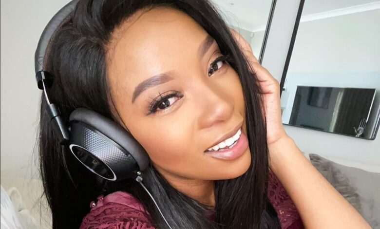 Pearl Modiadie Explains Why She Won't Comment On Pregnancy Reports