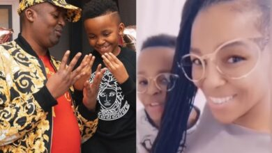Nhlanhla And TK Nciza Throw Separate Parties For Their Son's 8th Birthday