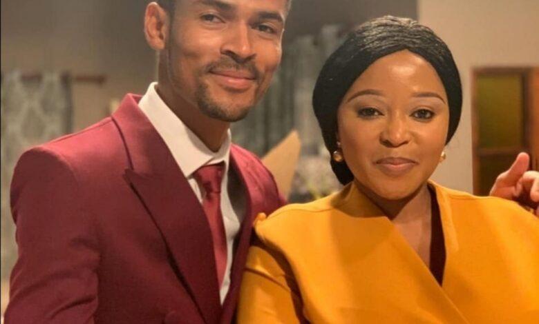 Skeem Saam's Pebetsi Matlaila Gives Her TV Husband Eric Macheru A Sweet Shoutout!