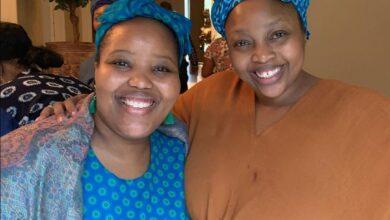 Photo of Relebogile Mabotja's Pens Heartfelt Sweet Birthday Shoutout To Her Sister