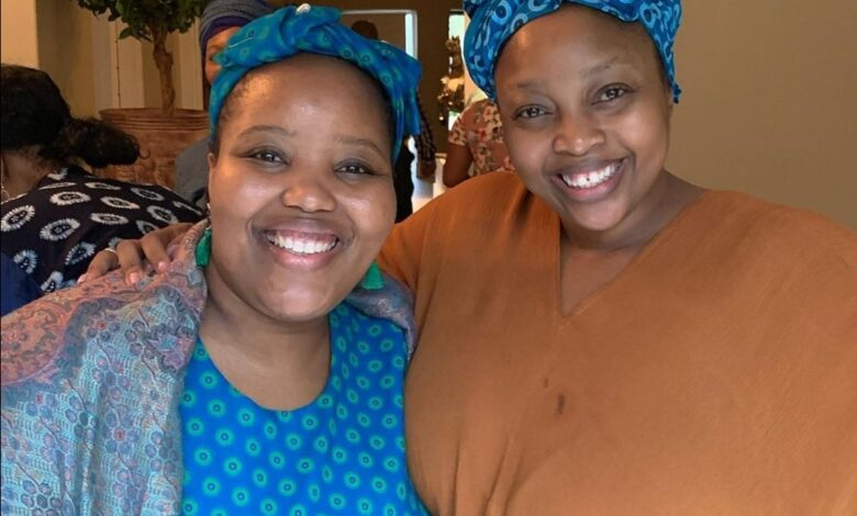 Relebogile Mabotja's Pens Heartfelt Sweet Birthday Shoutout To Her Sister