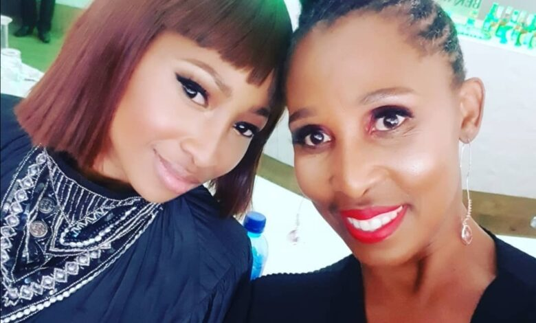 Enhle Mbali's Mom Encourages Her After Her List Of Demands From Black Coffee Made Headlines