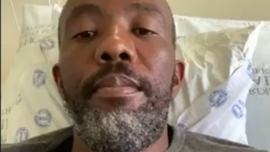 Photo of Watch:Former The Queen Actor Mlamli Mangcala Battles COVID-19 In Hospital