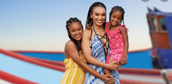 Pearl Thusi Shows Off Her Daughter's And Their Natural Hair
