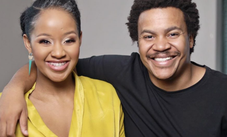Mpoomy Ledwaba And Brenden Praise Welcome Baby No.2