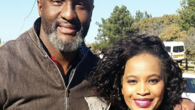 Photo of Ayanda Borotho Pens Heartfelt Message To Co-star Muzi Mthabela As He Bids Farewell To Isibaya