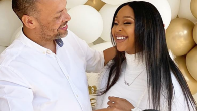 Photo of Minnie Dlamini-Jones Gets An All White Surprise Wedding Anniversary From Her Husband