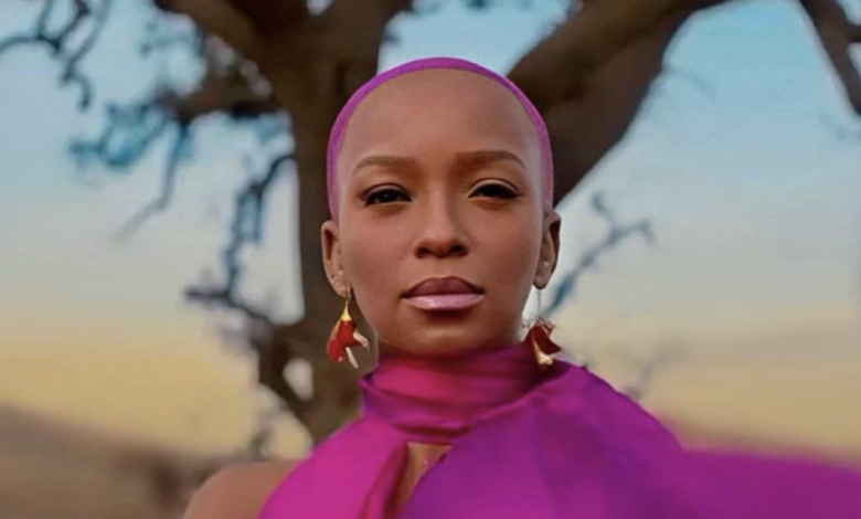 Pic! See Nandi Madida Acting Next To Beyonce In Black Is King