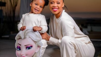 Photo of Ntando Duma Responds To Critics Questioning Why Her Daughter Has White Dolls!