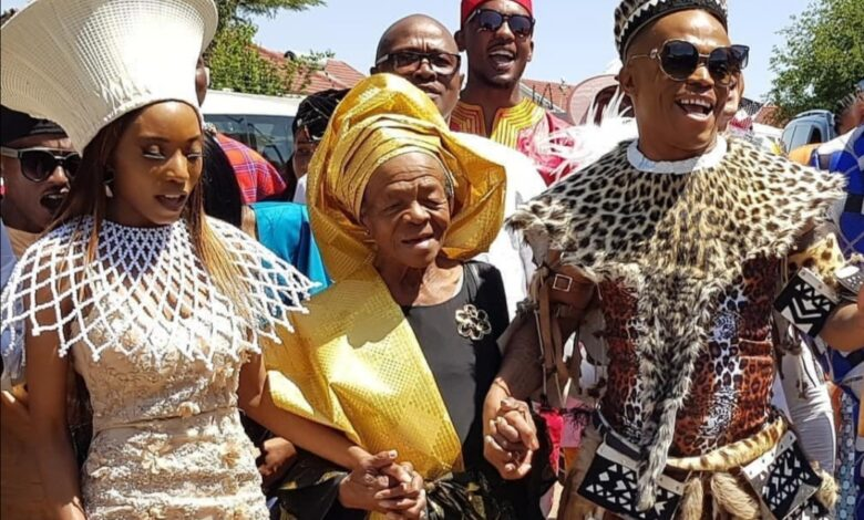 Watch! Somizi's Touching Tribute And Eulogy To His Mom At Her Funeral Service