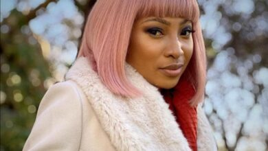 Photo of Enhle Mbali Reveals She Tested Positive For COVID-19!