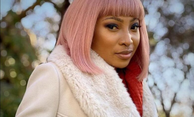 Enhle Mbali Reveals She Tested Positive For COVID-19!