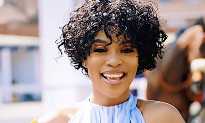 Nomzamo Mbatha Introduces Her New Baby To The World