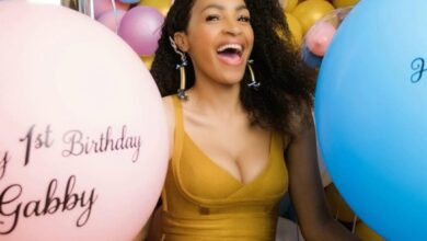Photo of Skeem Saam Actress Makgofe Moagi Remembers Her Near Death Experience On Her Twins First Birthday