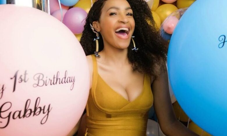Skeem Saam Actress Makgofe Moagi Remembers Her Near Death Experience On Her Twins First Birthday