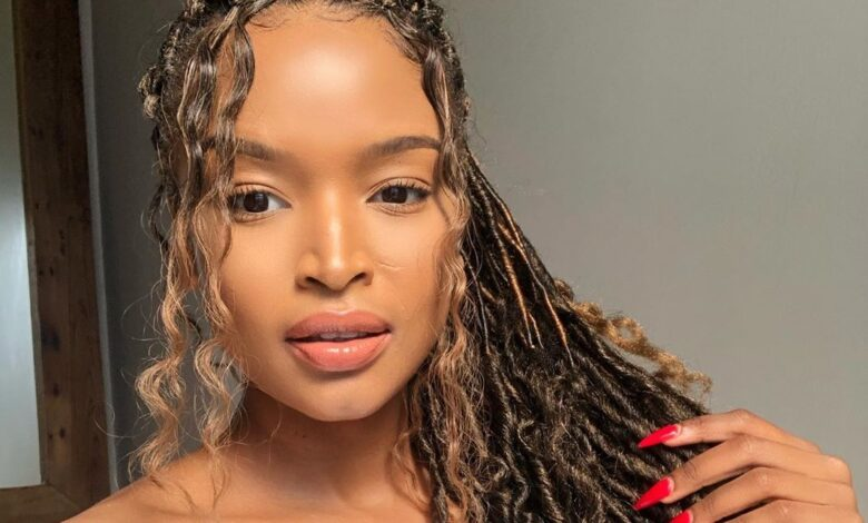 Ayanda Thabethe Celebrates Paying Off Her Mothers Car A Year After Purchasing It