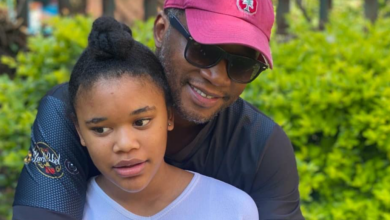 Photo of Walter Mokoena And Pearl Thusi's Daughter Turns 13! See Proud Dad Walter's Sweet Birthday Message