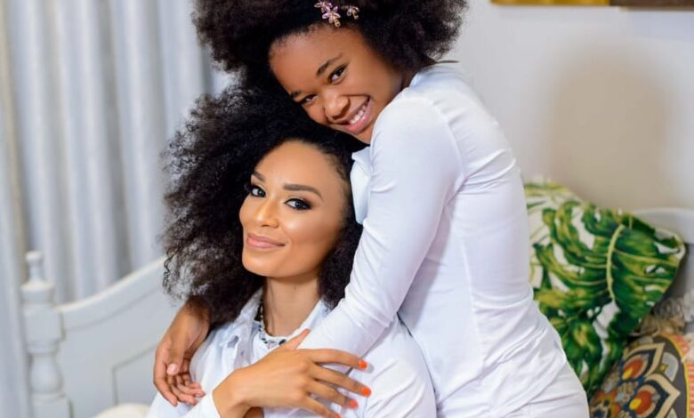 Pearl Thusi Gets Emotional In Birthday Message Dedicated To Her Teen Daughter Thando