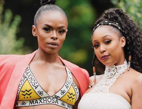 Unathi Pens A Heartfelt Message To Minnie Dlamini For Being A Great Friend