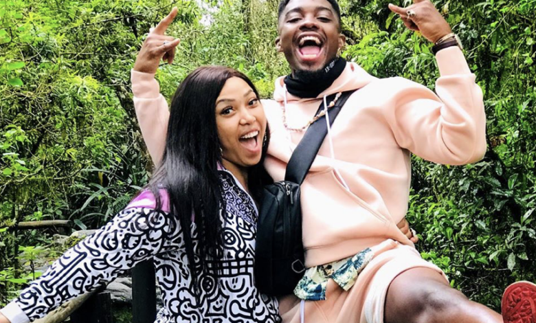 Tino Chinyani Defends His TMI DM's Of Advances To Simphiwe Ngema When Their Relationship Began