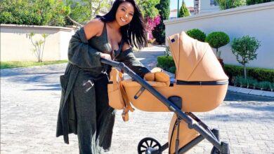 Photo of Pics! Pearl Modiadie Gives A Tour Of Her Baby's Luxury Nursery