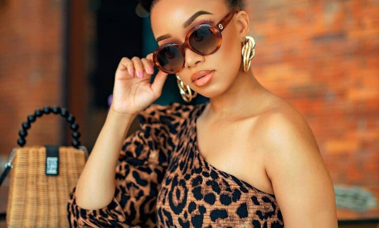 Dineo Langa's Plea To Her Fans When Requesting To Take A Photo
