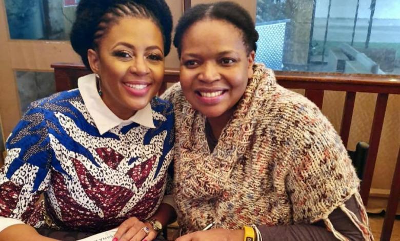 Pics! Basetsana Kumalo Celebrates Florence Masebe's Birthday With A Heartfelt Message