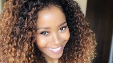 Photo of Pic! Andile Ncube's Girlfriend Reveals She Is Expecting In New Instagram Photo