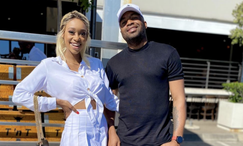 Pics! Sphelele Makunga Shares Wedding Pictures In Celebration Of Her 3 Year Anniversary With Itumeleng Khune