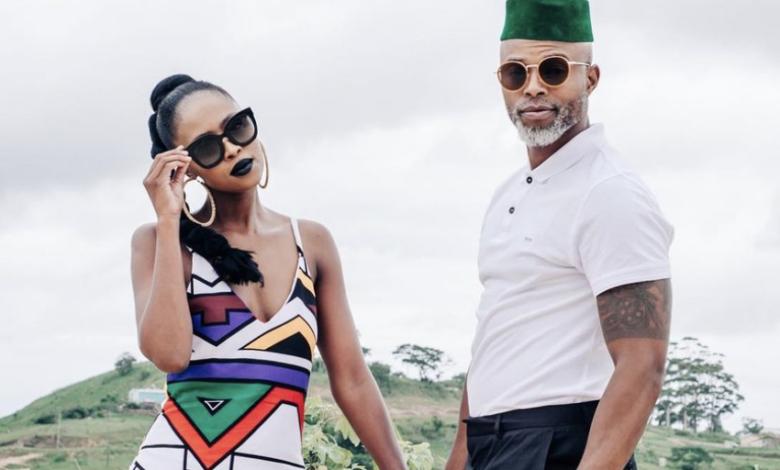 Thapelo Mokoena And His Wife Celebrate Their 8 Year Wedding Anniversary