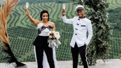 Photo of Photos! Sidwell 'Psyfo' Ngwenya Ties The Knot In An Intimate Wedding Ceremony