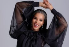 Photo of Connie Ferguson Gushes Over Her Tomboy Daughter Wearing A Dress To Her Matric Dance