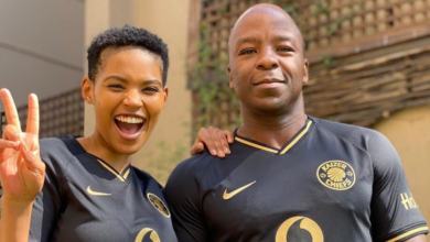 Photo of Pic! Gail Mabalane Shares A Cute Throwback Photo In Celebration Of Her Husband's Birthday