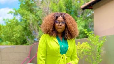 Photo of Mpho Letsholonyane Celebrates Her Cameo On A Popular Telenovela
