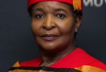 Photo of Muvhango's Regina Nesengani 'vho-Masindi' Conferred With A PhD Degree!