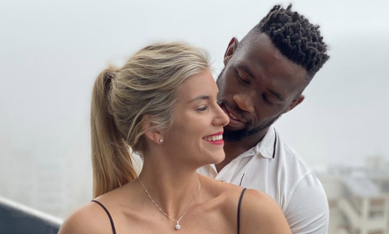 Siya Kolisi Celebrates Rachel's Birthday With A Sweet Shout Out