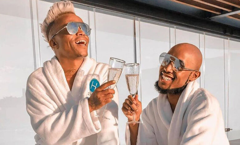 Somizi's Cryptic Instagram Posts Spark Major Troubled Marriage Rumours