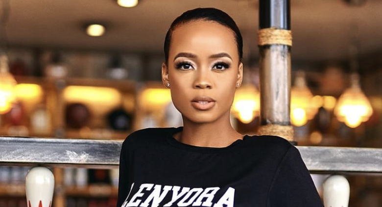 Pic! Ntando Duma Shows Off The Home She Built For Her Mother