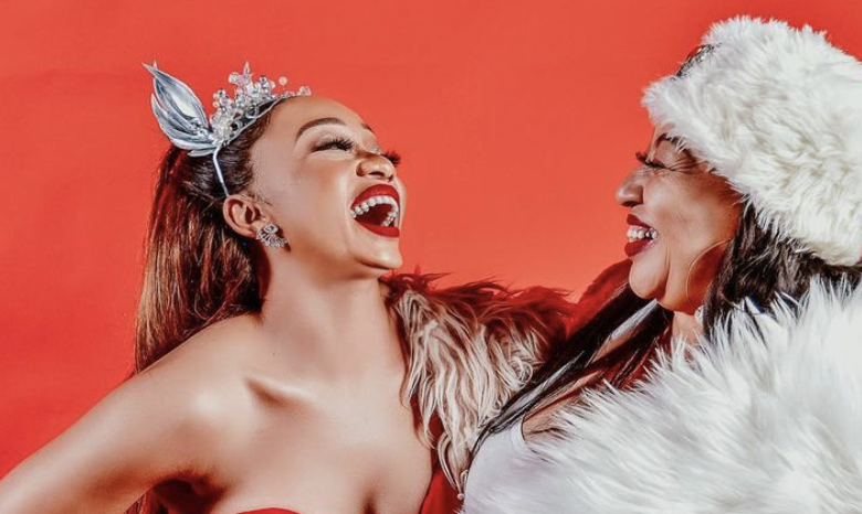 Watch! Thando Thabethe Buys Her Mother A New Home