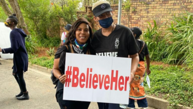 Photo of Ntsiki Mazwai And Penny Lebyane Show Support In Peaceful Protest For Alleged Rape Victim
