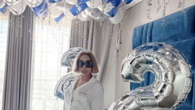 Photo of Watch! Khanyi Mbau Spoils Her Man With An Extravagant Surprise Celebration