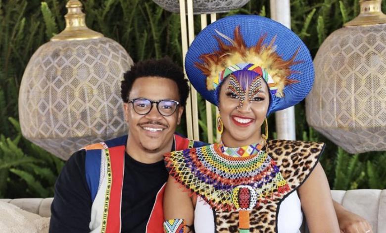 Pics! Inside Mpoomy Ledwaba And Brenden Praises Traditional Wedding Ceremony