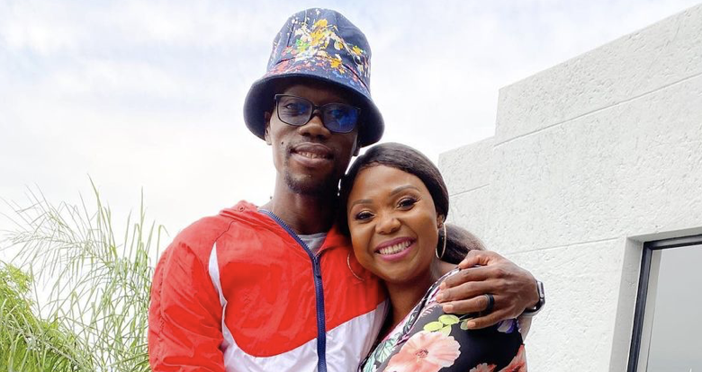 Mpho Letsholonyane Celebrates 3 Year Wedding Anniversary With A Heartfelt Messages