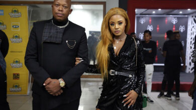 Photo of Black Twitter Reacts To Mampintsha Repeatedly Calling Babes Wodumo To Ask Her Whereabouts During Her Interview With MacG