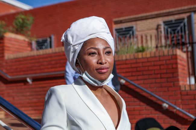 Watch! Enhle Mbali Reveals She Was Denied Protection Order Plans To Tell All In Upcoming Press Conference