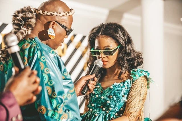 SA Celebs Who Have Tied The Knot In 2021 So Far