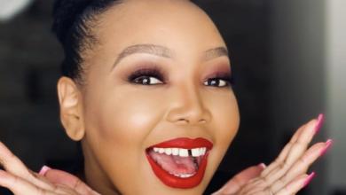 Photo of Pics! Thembisa Nxumalo Heats Up Social Media With Hot Swimsuit Photos